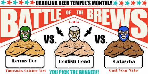 Battle of the Brews: Round HALLOWEEN!