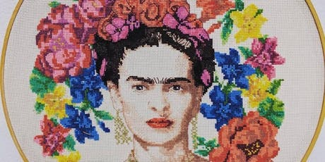 Frida Fiesta painting and flower crowns workshop paint like Frida Kahlo tickets