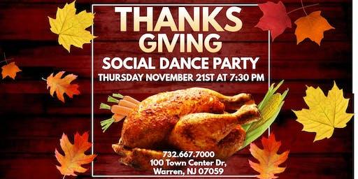 Thanksgiving Potluck Social Dance Party!