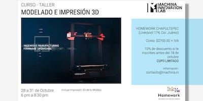 Modelado e impresión 3D
