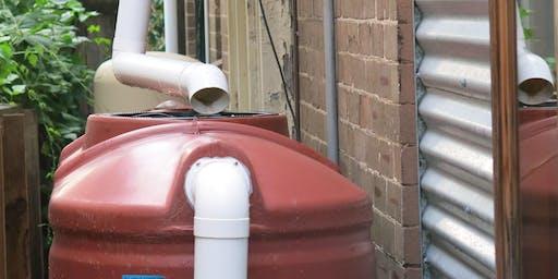 Rainwater Harvesting Workshop - Petersham