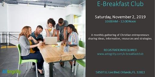 Entrepreneurs Breakfast Club | November