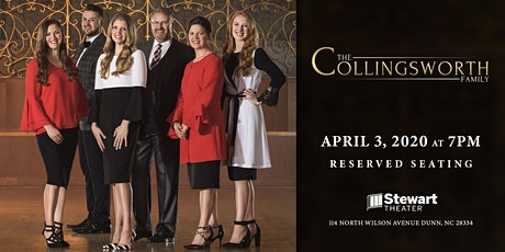 The Collingsworth Family at the Stewart Theater tickets