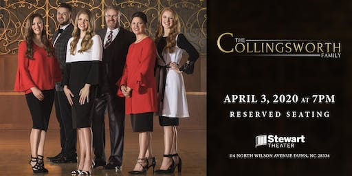 The Collingsworth Family at the Stewart Theater