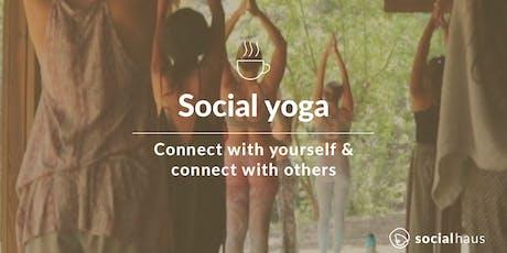 Social Yoga tickets
