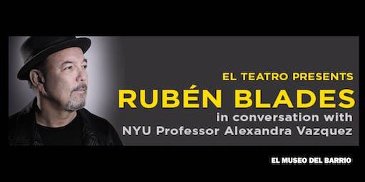 El Teatro Presents Ruben Blades