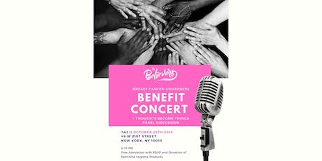 The Believer's Breast Cancer Awareness Benefit Concert + Panel tickets