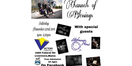 """Channels of Blessings stop #3 on the """"7"""" church tour tickets"""