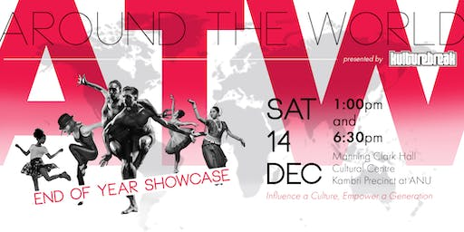 Kulture Break's Around The World End of Year Showcase
