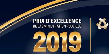 Cérémonie de remise des prix d'excellence de l'IAPQ 2019 billets