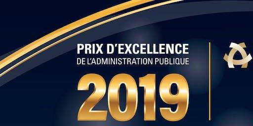 Cérémonie de remise des prix d'excellence de l'IAPQ 2019