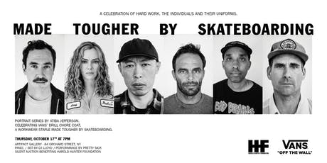 MADE TOUGHER BY SKATEBOARDING, The Drill Chore Coat tickets