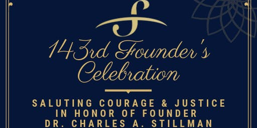 143rd Founder's Celebration - Saluting Courage and Justice