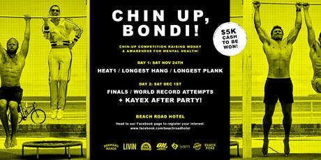 Registration Chin Up, Bondi! tickets