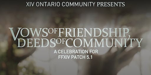 Vows of Friendship, Deeds of Community