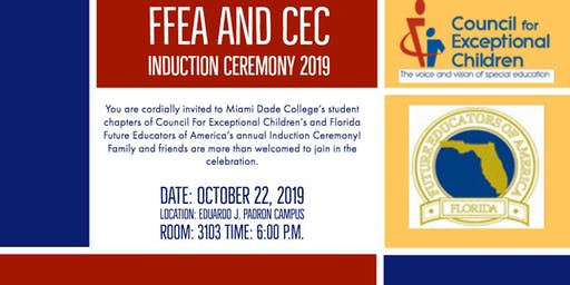 FFEA/CEC Induction Ceremony