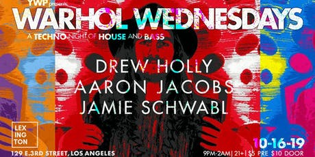 WARHOL WEDNESDAYS - A Techno Night of House and Bass. tickets