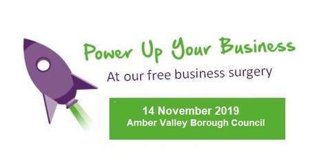 Amber Valley Business Surgeries -14 Nov tickets