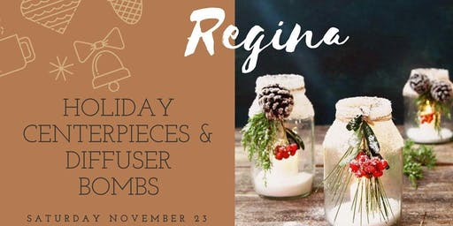 Regina Holiday Centerpieces and Diffuser Bombs