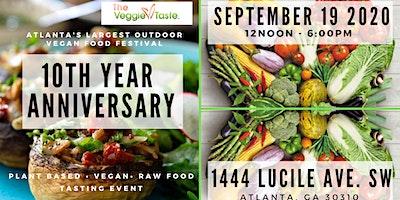 The Veggie Taste - 10th Annual - Vegan. Plant Based. Raw Food Tasting Event