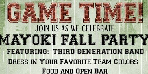 Mayoki Fall Party