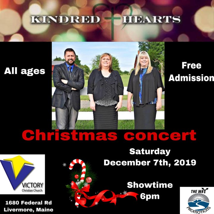 Christmas Concerts Near Me.Kindred Hearts Christmas Concert Tickets Sat Dec 7 2019