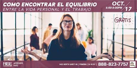 COMO ENCONTRAR EL EQUILIBRIO  tickets