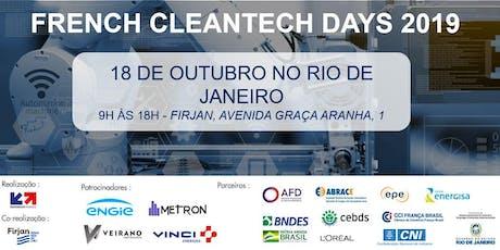 French Cleantech Days RJ - Eficiência energética para a indústria ingressos