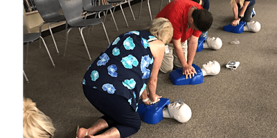 CPR, AED and Basic First Aid Class, $80, Same day ASHI card.