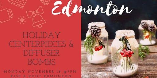 Edmonton Holiday Centerpieces & Diffuser Bombs