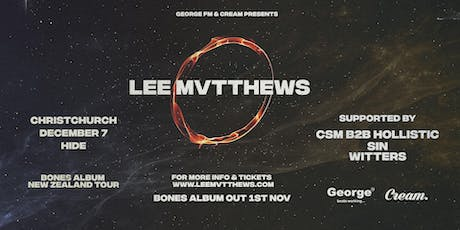 Lee Mvtthews Bones Album Tour - Christchurch tickets