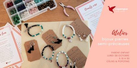 Atelier Bijoux / pierres semi-précieuses billets