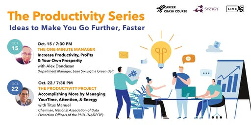 The Productivity Series: Ideas to Make You Go Further, Faster