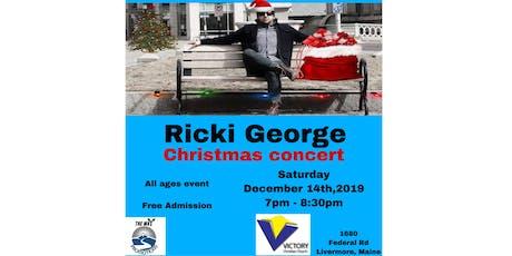 Ricki George Christmas concert tickets