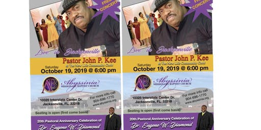 """""""FREE"""" Pastor John P. Kee Concert at Abyssinia!"""