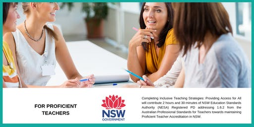 Inclusive Teaching Strategies: Providing Access for All