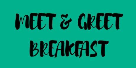 Meet & Greet Breakfast tickets