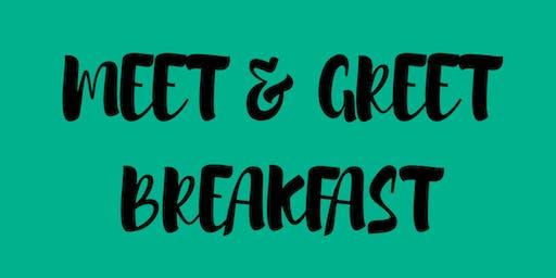 Meet & Greet Breakfast