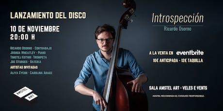 Ricardo Osorno Quartet - Lanzamiento del disco 'Introspección' entradas