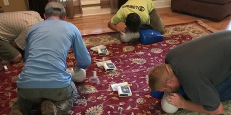 Heartsaver CPR AED Class, $75, Same day card. tickets