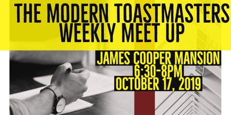 The Modern Toastmasters tickets