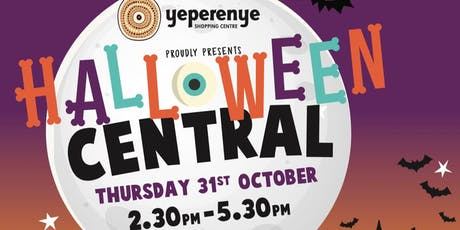 Halloween Central at Yeperenye tickets