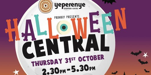 Halloween Central at Yeperenye