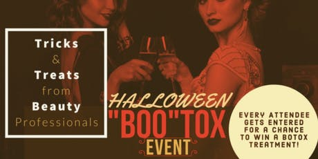 """Dr.B's Halloween """"BOO-TOX"""" Event tickets"""