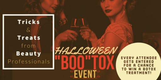 "Dr.B's Halloween ""BOO-TOX"" Event"