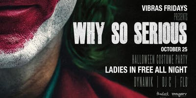 Why So Serious Halloween Costume Party Wynwood