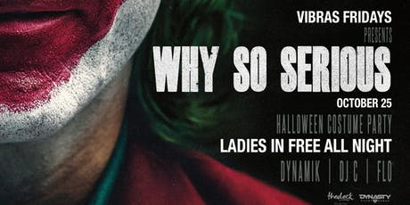 Why So Serious Halloween Costume Party Wynwood tickets