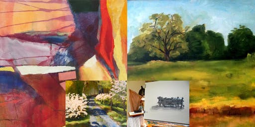 OPEN STUDIO: Guided Creative Practice in Painting, Drawing or Mixed Media