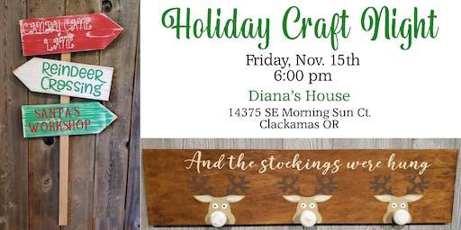Diana's Holiday Craft Night