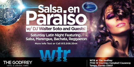 """Salsa en Paraiso"" Latin Night FREE COVER til 11PM Registration tickets"